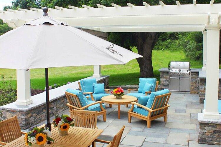 quartzite natural stone patio floor bench seat 1 orig
