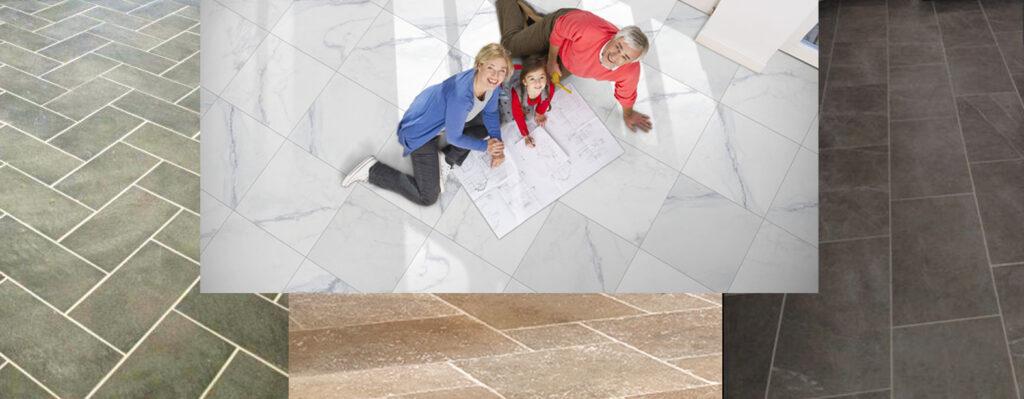 Tile Layout Floor Wall Header